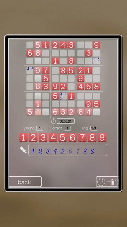A classic 10.000 SUDOKU Level Set screenshot-3