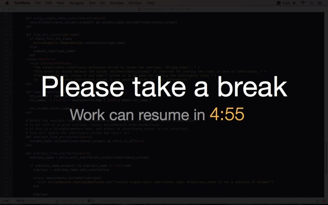 Take A Break, Please