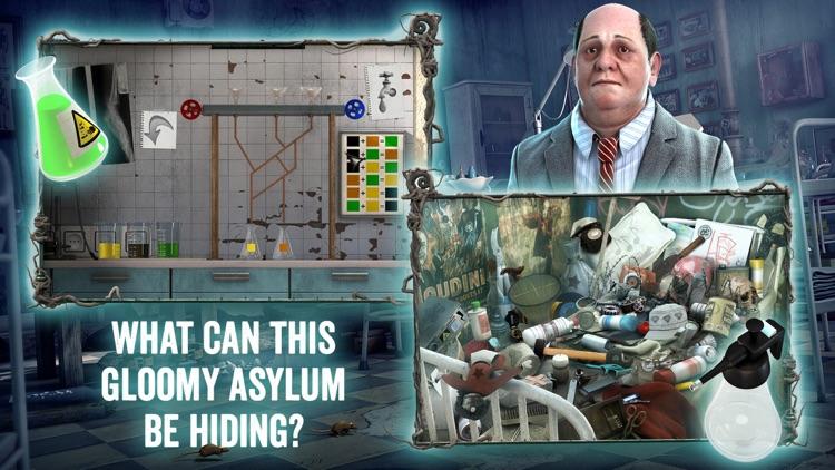 Medford Asylum: Paranormal Case - Hidden Object Adventure screenshot-3