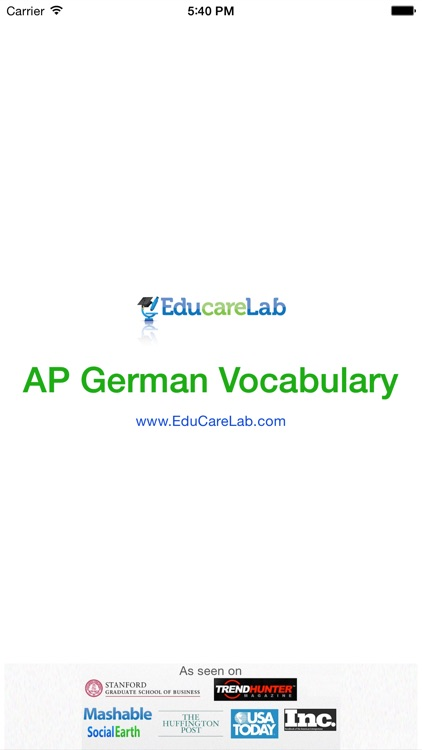 AP German Vocabulary