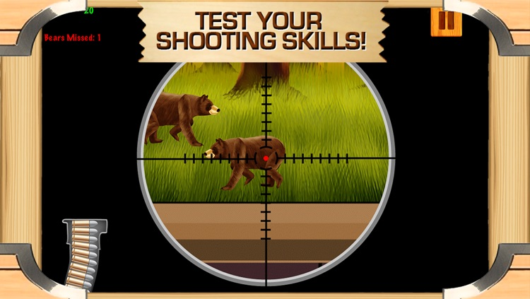 Awesome Bear Hunter Shooting Game With Cool Sniper Hunting Games For Boys FREE screenshot-4