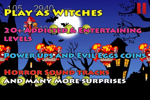 Halloween Haunted Witches in the Fantasy Style screenshot 3