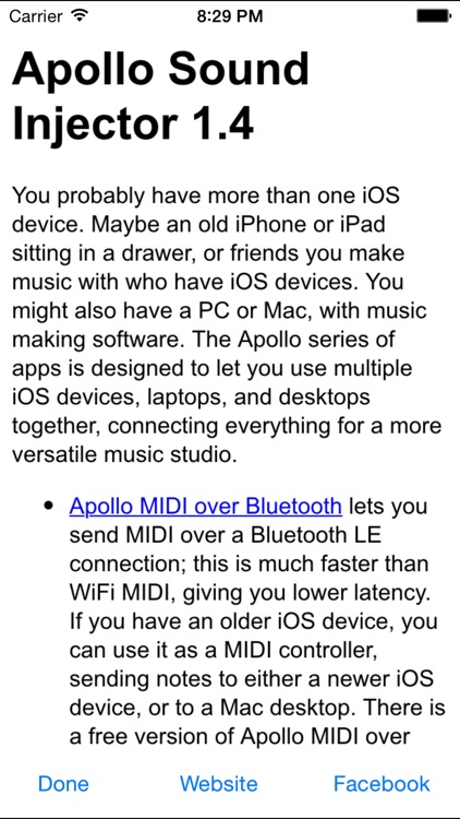 Apollo Sound Injector - Streaming Audio between iOS Devices