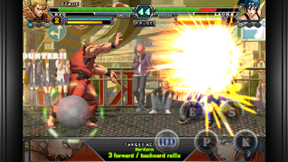 Screenshot from THE KING OF FIGHTERS-i 2012(F)