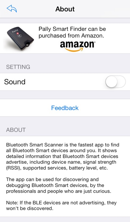 Bluetooth Smart Scanner screenshot-3
