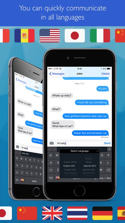 Keyboard Translator Pro ( your text translator to/from English, Spanish etc ... ) screenshot-3