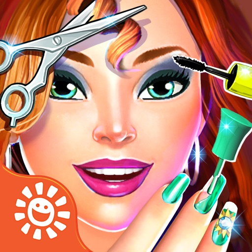 Sunnyville Salon Game - Play Free Hair, Nail & Make Up Games
