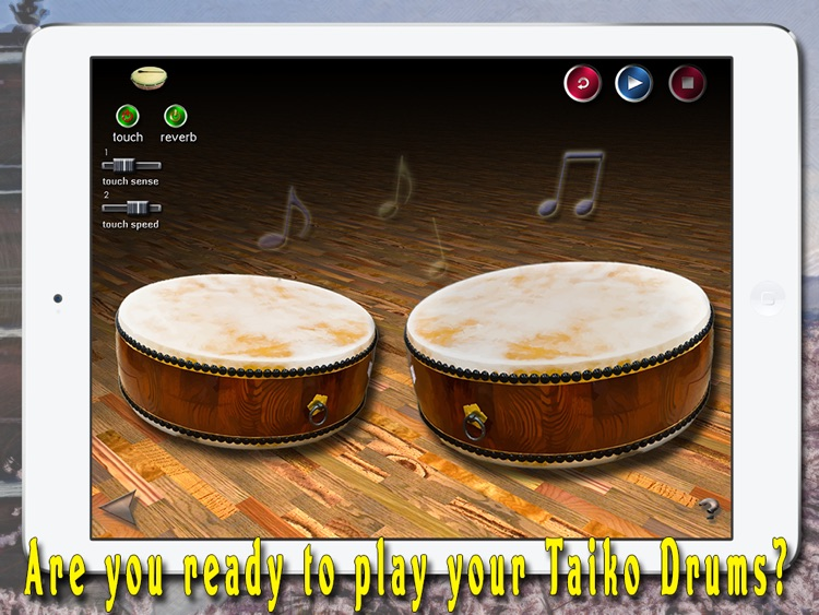 i Play My Japanese Drums HD screenshot-1