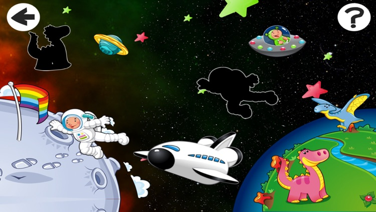 Alien-s Lost in Space with Robot-er, Dino-saur and Star-s In Fun-ny Kid-s Game-s
