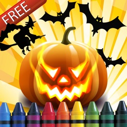 Halloween Coloring-Book