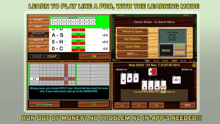 Blackjack 21 Pro - Multi-Hand (Vegas Casino Fun) screenshot-3