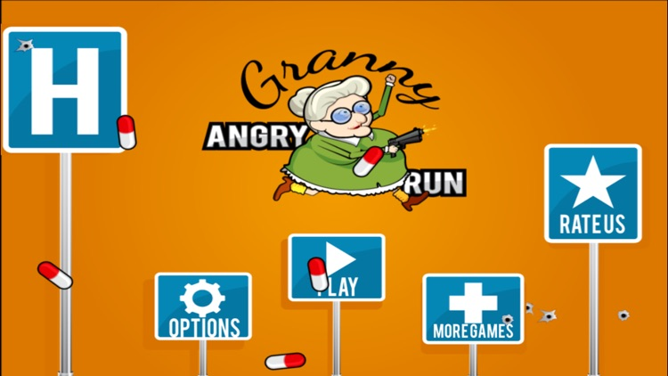 Angry Grandma Run Games:Crazy - The most fun games for the bad grandma in you!