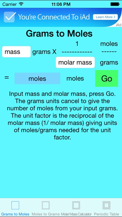 Grams To Moles Free By Robert Gulotty