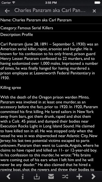 Serial Killers Pro screenshot-3