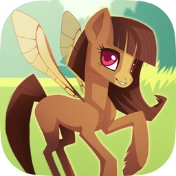 Pooka Pets - Style a Pet Fairy Pony in this Free Dress-up Game