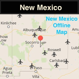 New Mexico Offline Map with Traffic Cameras Pro