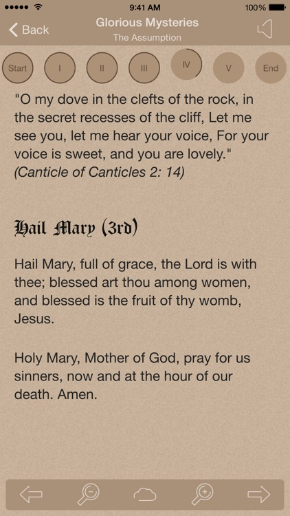 Scriptural Rosary screenshot-3