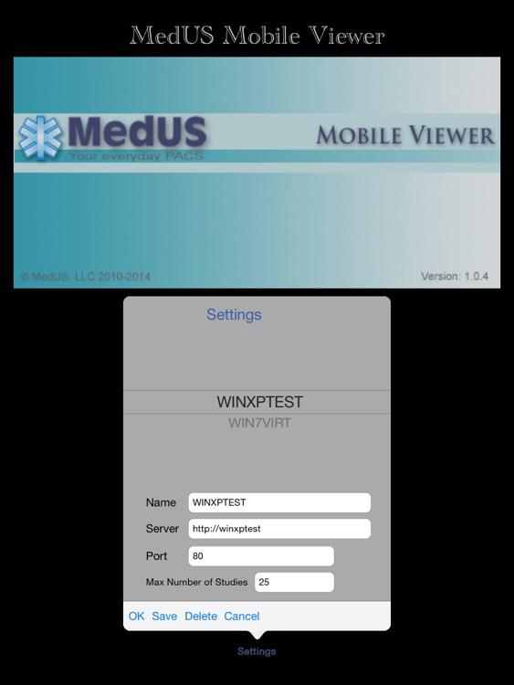 MedUS Mobile Viewer
