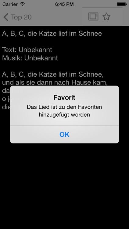 Liederbuch - Kinderlieder und Volkslieder screenshot-3