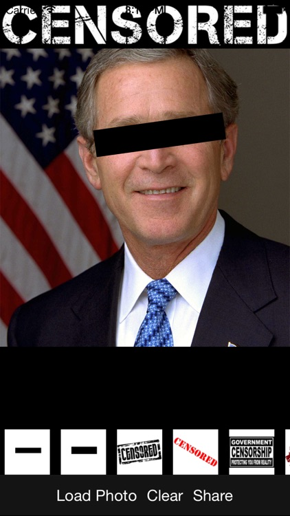 Censored Free - Add NSFW, Parental Advisory, Classified, Top Secret and other signs to your photos!