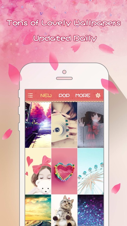 Girly Wallpapers Adorable Backgrounds And Themes For Iphone And Ipod Touch By Xiaorong Yang