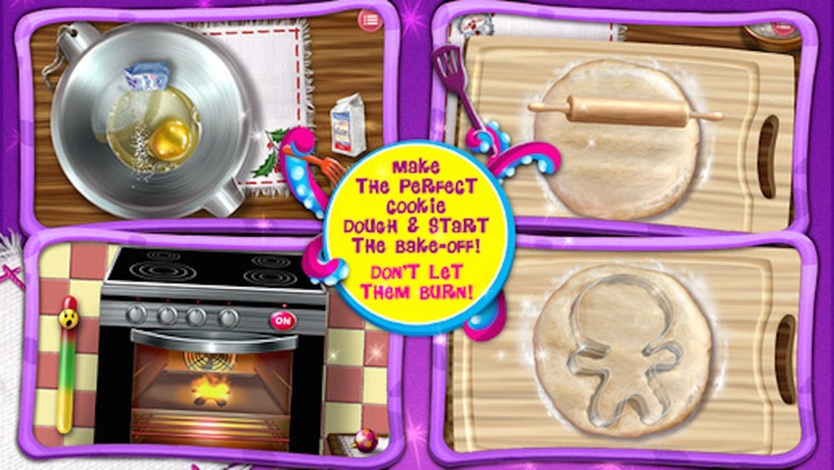 Gingerbread Kids - Cookie Maker Salon & Fun Dessert Food & Candy Making Games