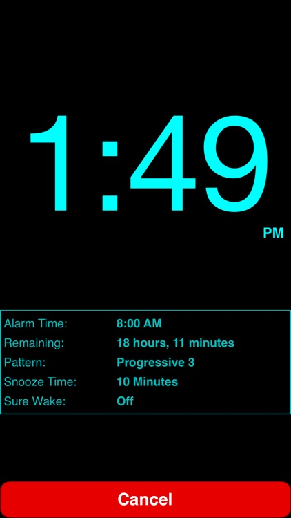 Progressive Alarm Clock screenshot-1