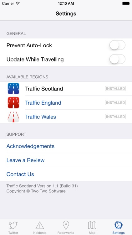 Traffic Scotland screenshot-4