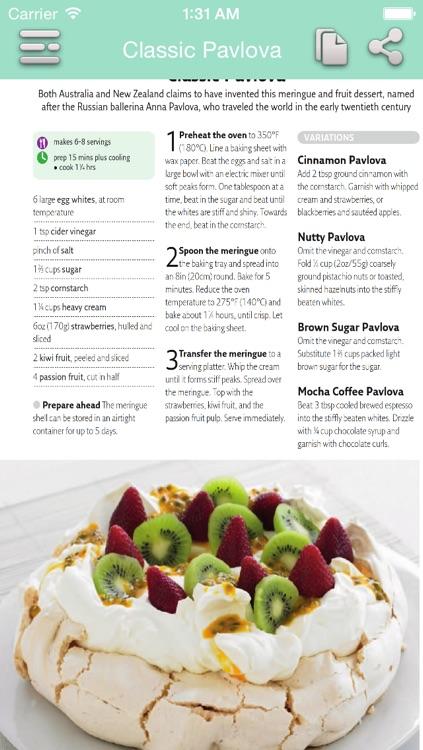 Dessert Recipes - Quick and Easy