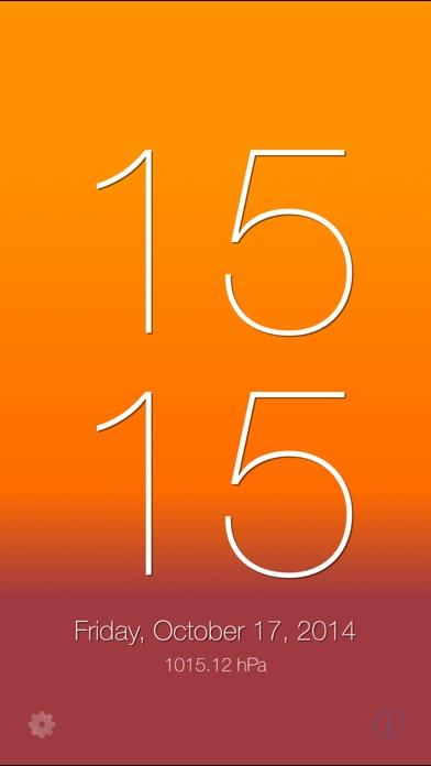 SimpleClock. iPhone