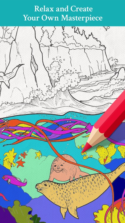 Lost Ocean - Adult Coloring Book