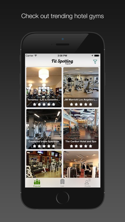 Fit Spotting - Hotel Gym Photos and Reviews