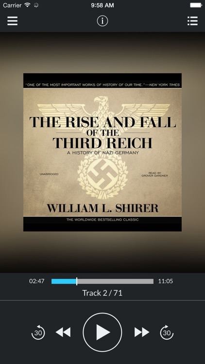 a history of the rise and fall of hitlers third reich Nazis i hate these guys so says indiana jonesand so says william l shirer shirer's the rise and fall of the third reich: a history of nazi germany is the harry potter of historical writing.