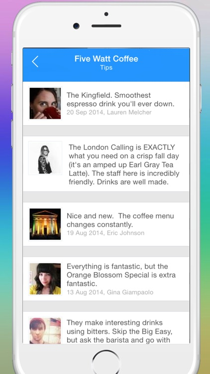 Coffee Finder - Your guide to the best coffeehouses near you now screenshot-3