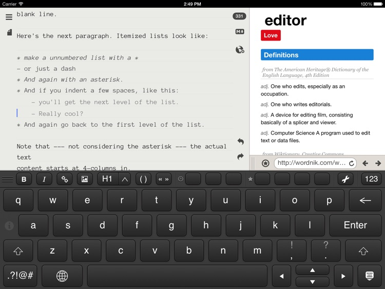 WordEver - MarkDown Text Editor screenshot-4