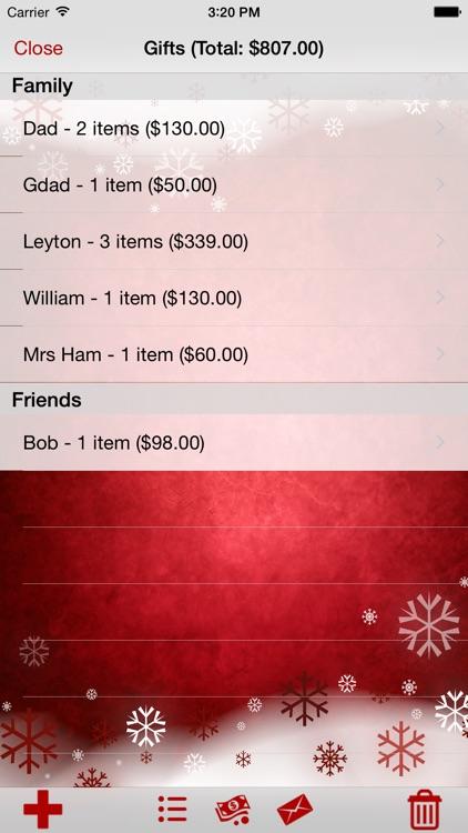My Christmas List