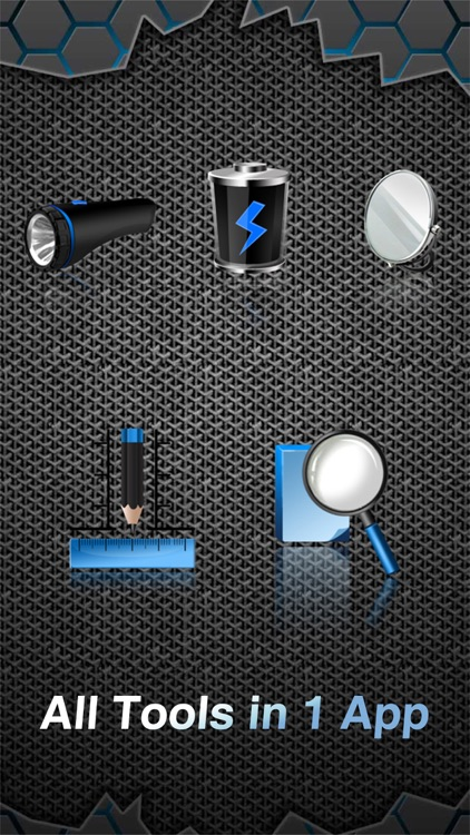 Toolkit Pro (Battery, Ruler, Flashlight, Mirror & Magnifier all in 1)