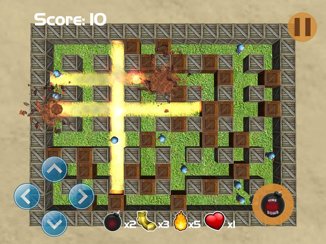 Bomber Go, game for IOS