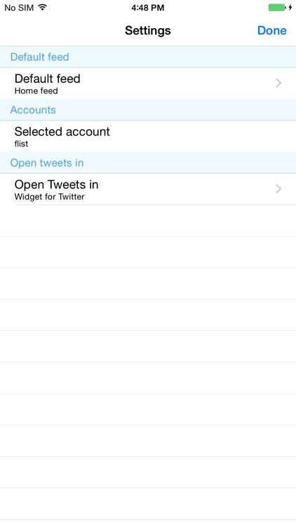 Widget for Twitter screenshot-3