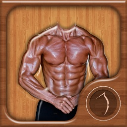 Man Body Builder Photo Montage