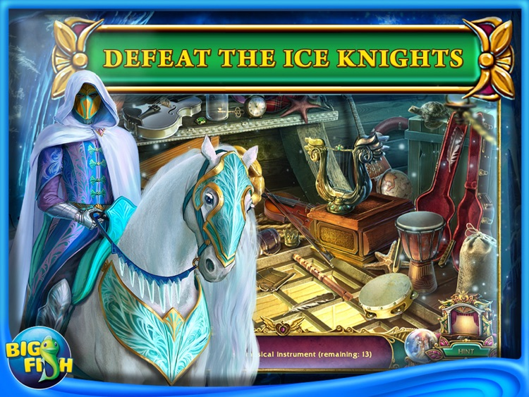 Dark Strokes:  The Legend of the Snow Kingdom HD – A Hidden Object Mystery