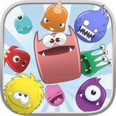 Activities of Cute Monster Heroes Match Threes Puzzle Game