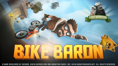 Screenshot from Bike Baron Free