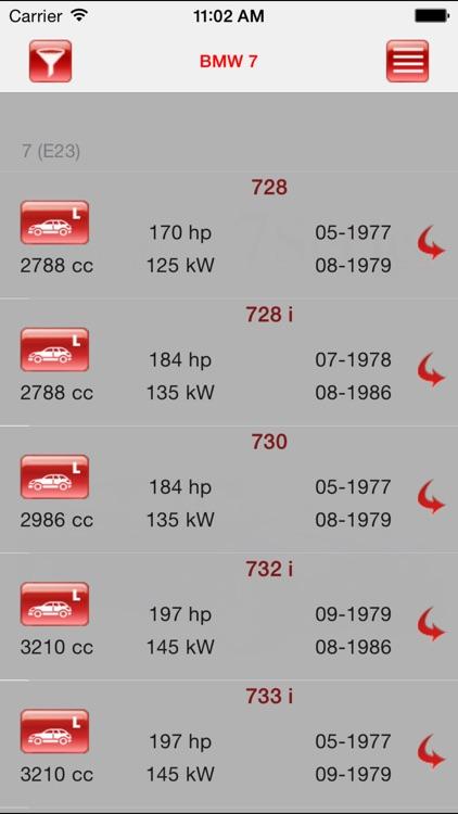 Autoparts BMW 7-series screenshot-4