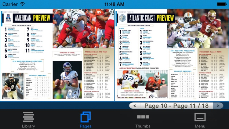 Allstate College Football Magazine screenshot-3