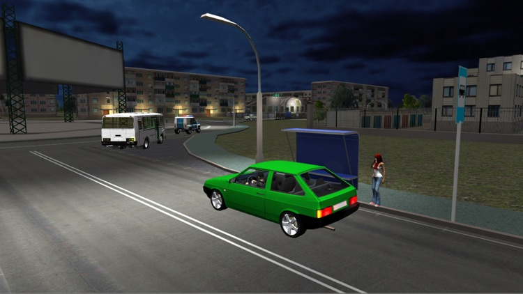 Russian Bus Simulator 3D screenshot-3