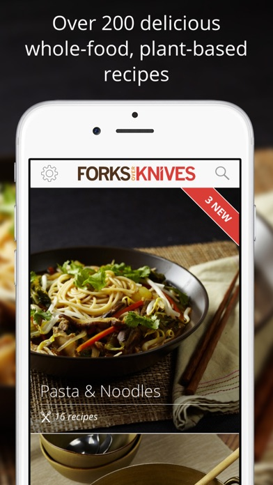 Forks Over Knives - Healthy Recipes & Easy Meals app image