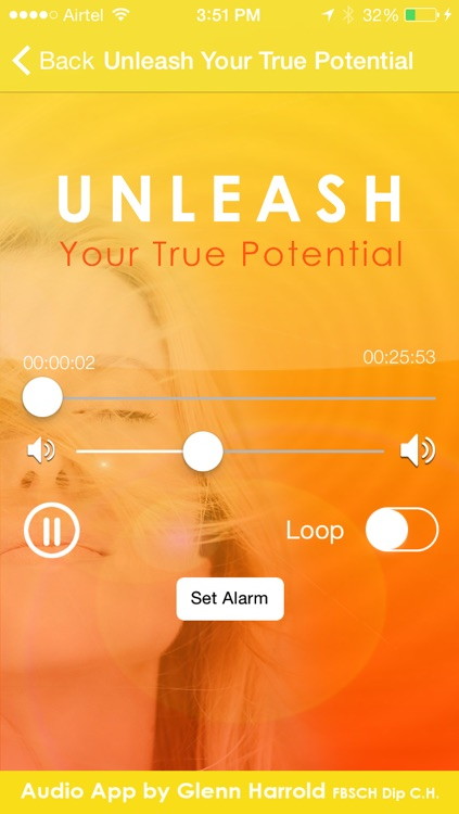 Unleash Your True Potential Self-Hypnosis by Glenn Harrold screenshot-1