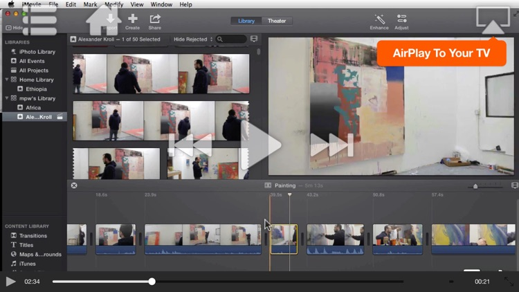 Course For iMovie - Trimming, Titles, Transitions & Trailers screenshot-3