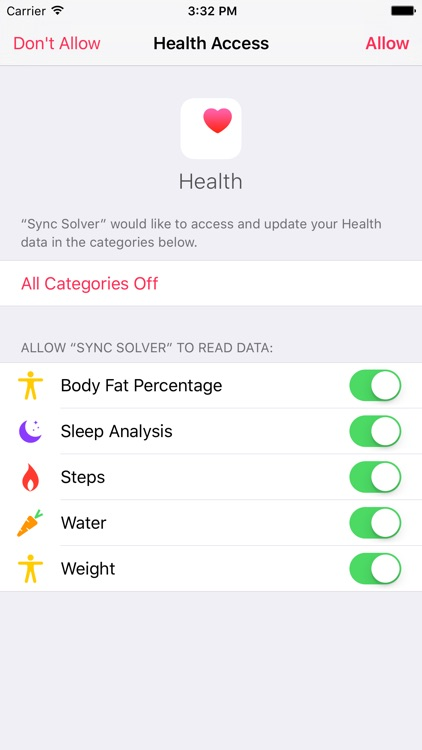 Sync Solver - Health to Fitbit